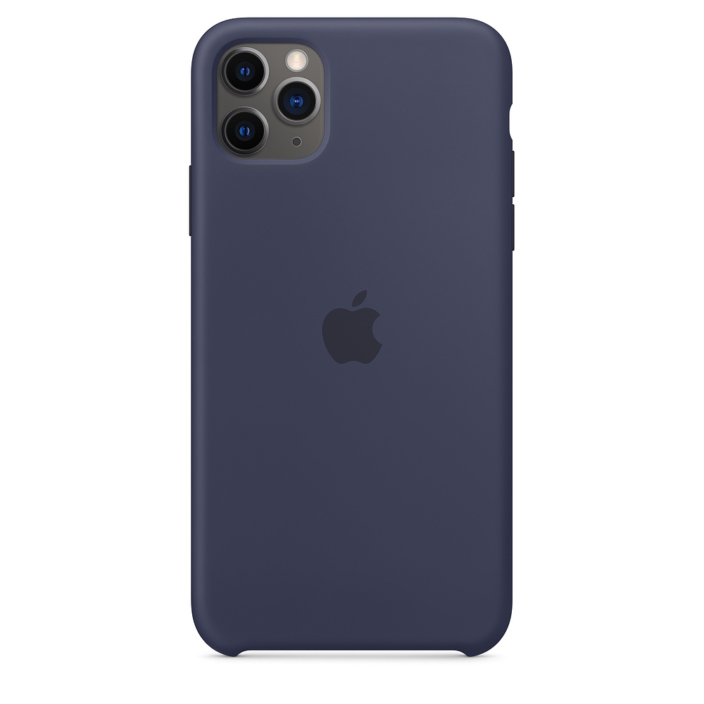 Apple iPhone 11 Pro Max Silicone Case Midnight Blue (MWYW2ZM/A)