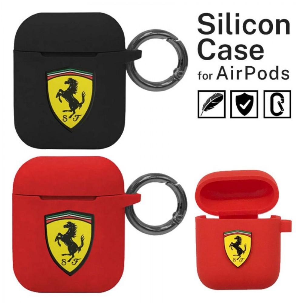 AirPods / AirPods 2 Silicone Case Ferrari