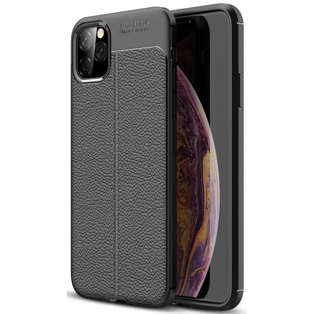 Силиконов гръб Auto focus leather за Apple iPhone 11