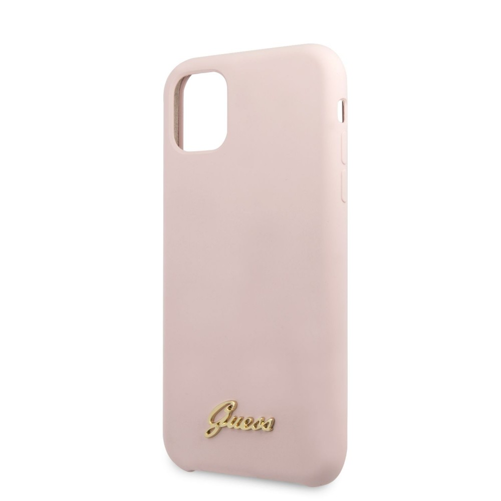 Гръб Guess Silicone Vintage за Apple iPhone 11 Pro