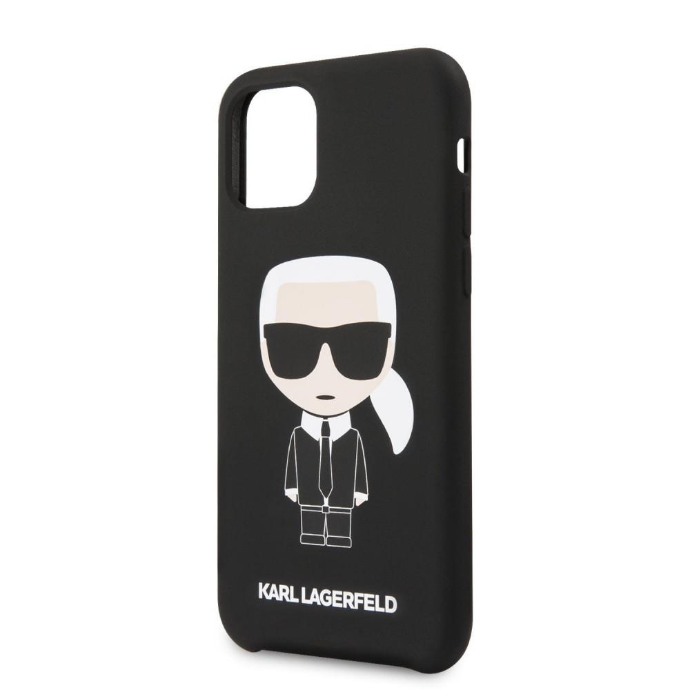 Гръб Karl Lagerfeld KLHCN61SLFKBK за Apple iPhone 11
