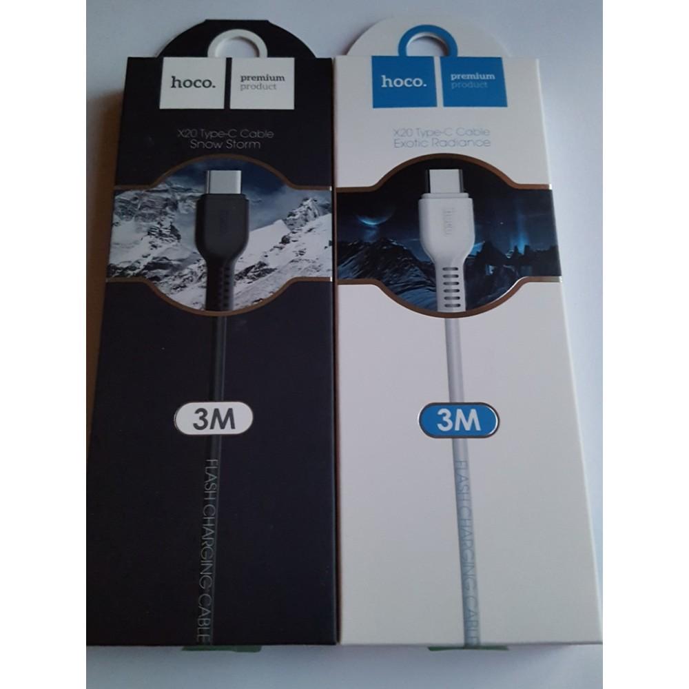 Hoco X20 Type-C дата кабел 3 метра