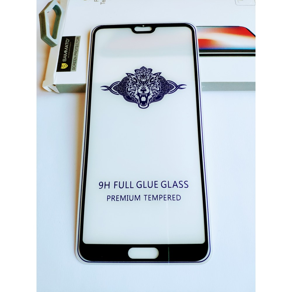 Стъклен протектор Sammato 3D Full Glue за Huawei P20 Pro
