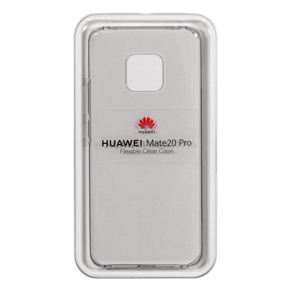 Huawei Mate 20 Pro Flexible Clear Case