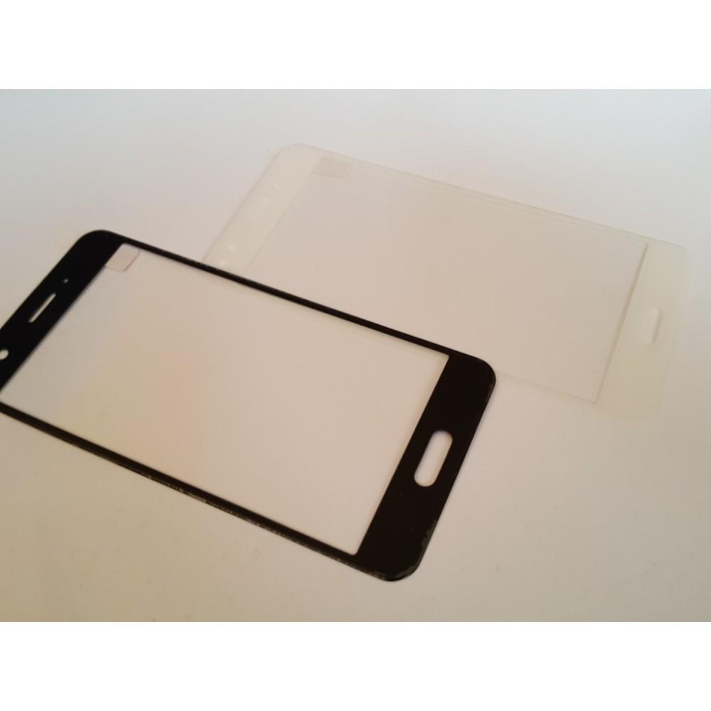 Стъклен протектор цветен 3D с извити краища за Huawei P9 Lite mini