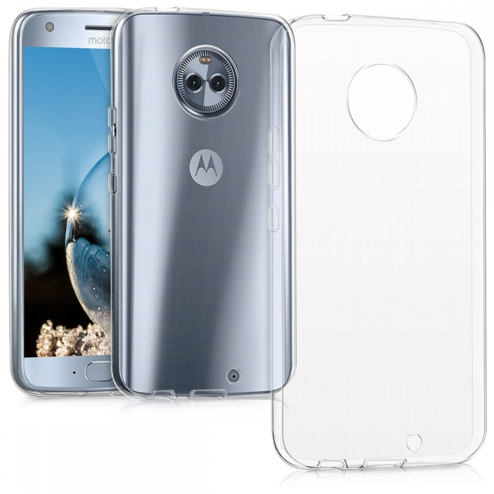 Ултра тънък силиконов гръб за Motorola Moto Moto X4