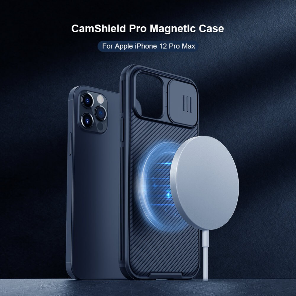 Твърд гръб Nillkin CamShield Pro Magnetic за Apple iPhone 12 Pro Max