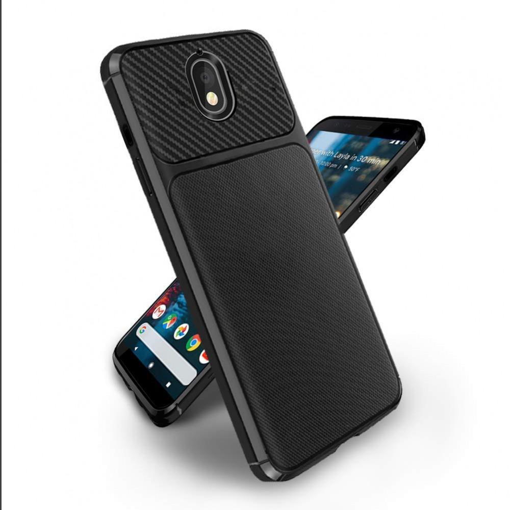 Силиконов гръб New Carb Tpu за Nokia 3.1