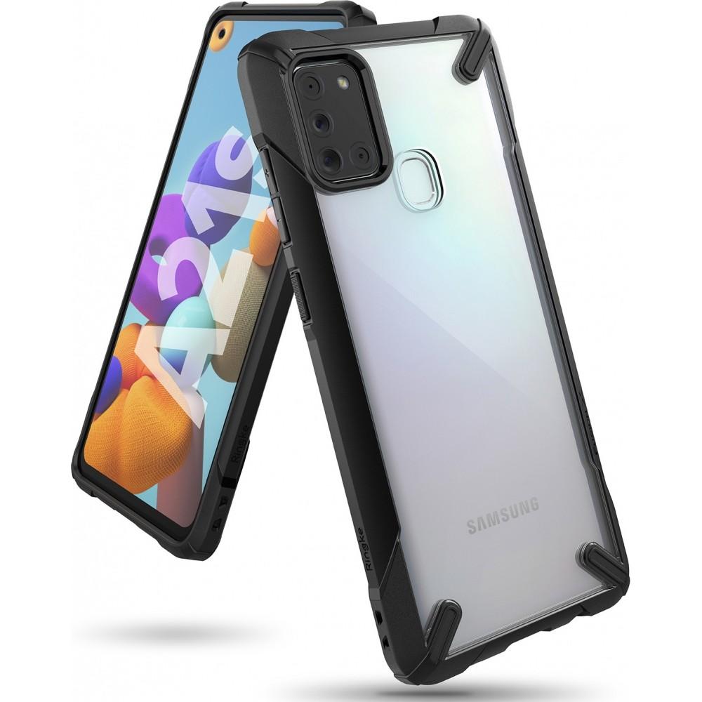 Удароустойчив гръб Ringke Fusion X за Samsung Galaxy A21s