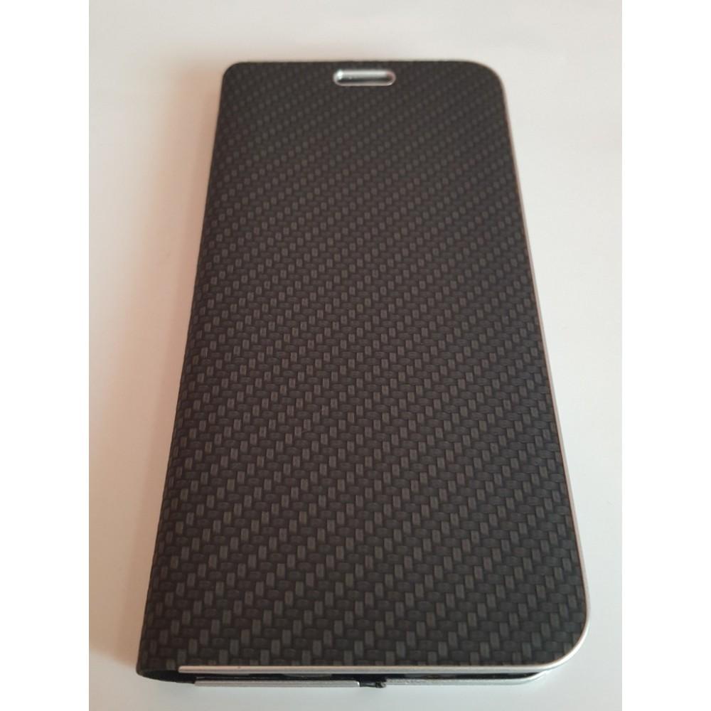 Луксозен хоризонтален калъф Vennus Carbon за Apple iPhone 7