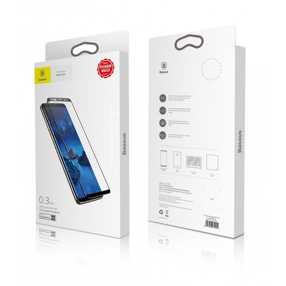 Baseus Full Screen Стъклен протектор за Samsung Galaxy S9+