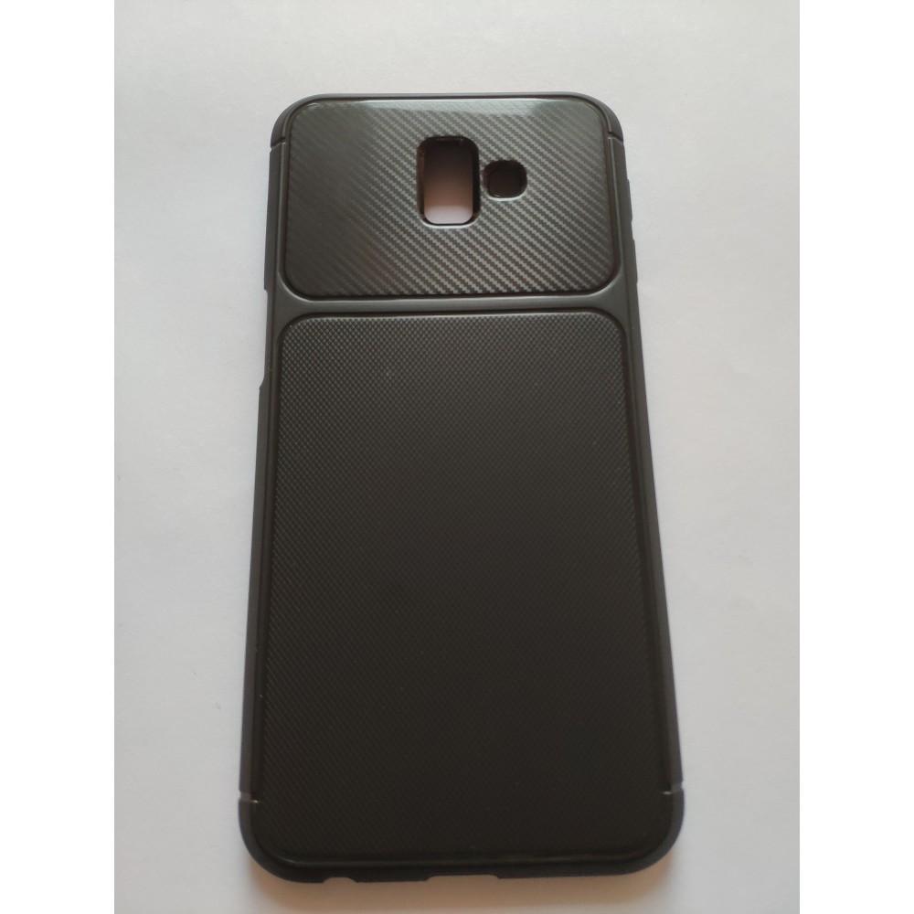 Силиконов гръб New carbon за Samsung Galaxy J6+