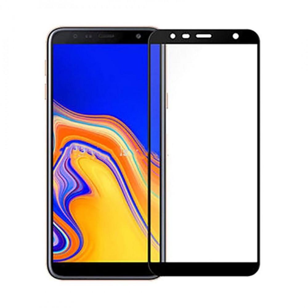 Стъклен протектор цветен 3D за Samsung Galaxy J6+