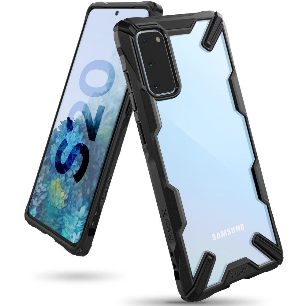 Удароустойчив гръб Ringke Fusion X за Samsung Galaxy S20