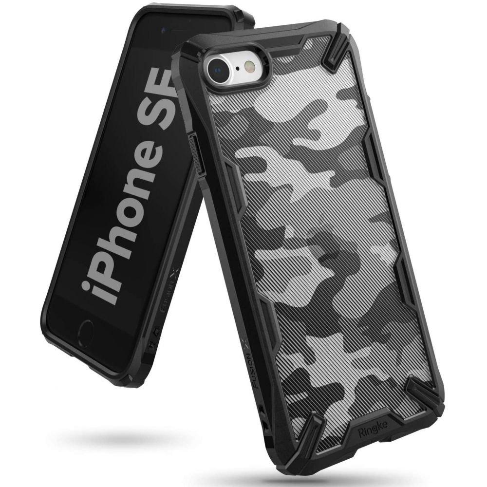 Удароустойчив гръб Ringke Fusion X Camo за Apple iPhone SE (2020)