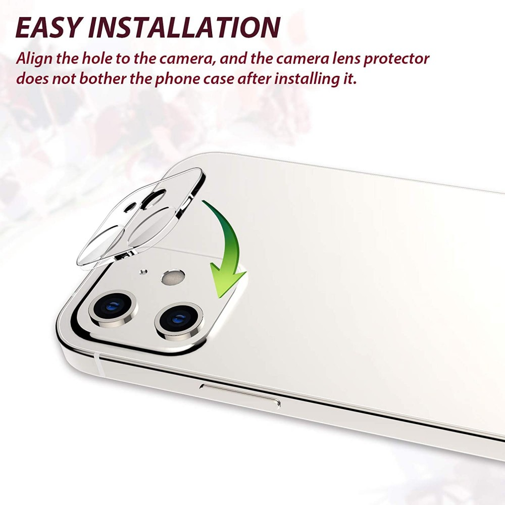 3D камера протектор за Apple iPhone 12 mini