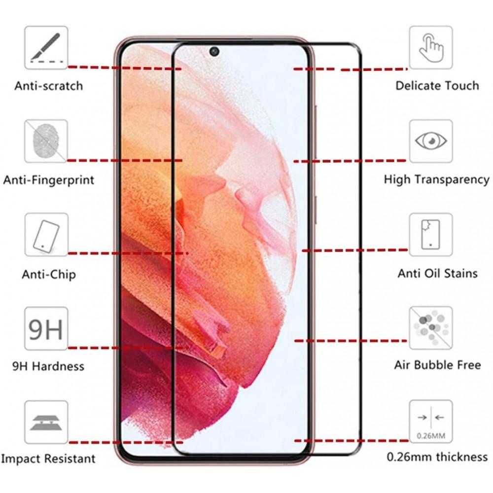 Стъклен протектор Full Glue за Xiaomi Redmi 10