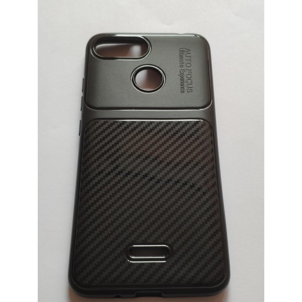 Силиконов гръб Shine carbon за Samsung Galaxy J4+