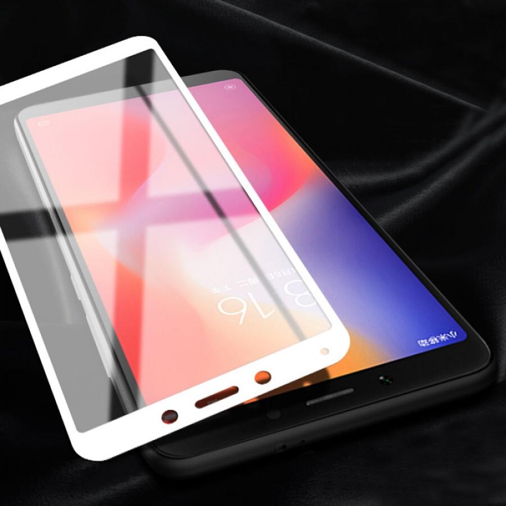Стъклен протектор Full Glue за Xiaomi Redmi 6 / Xiaomi Redmi 6a
