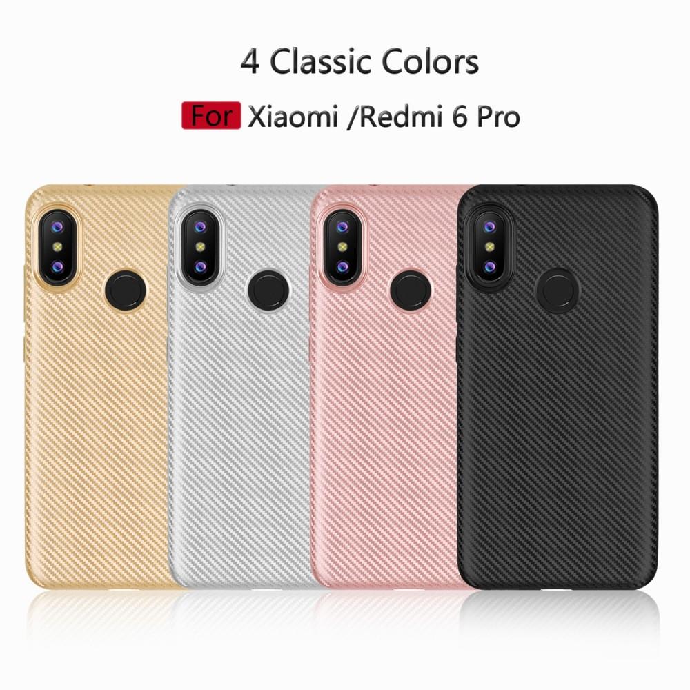 Силиконов гръб Carbon за Xiaomi Mi A2 Lite