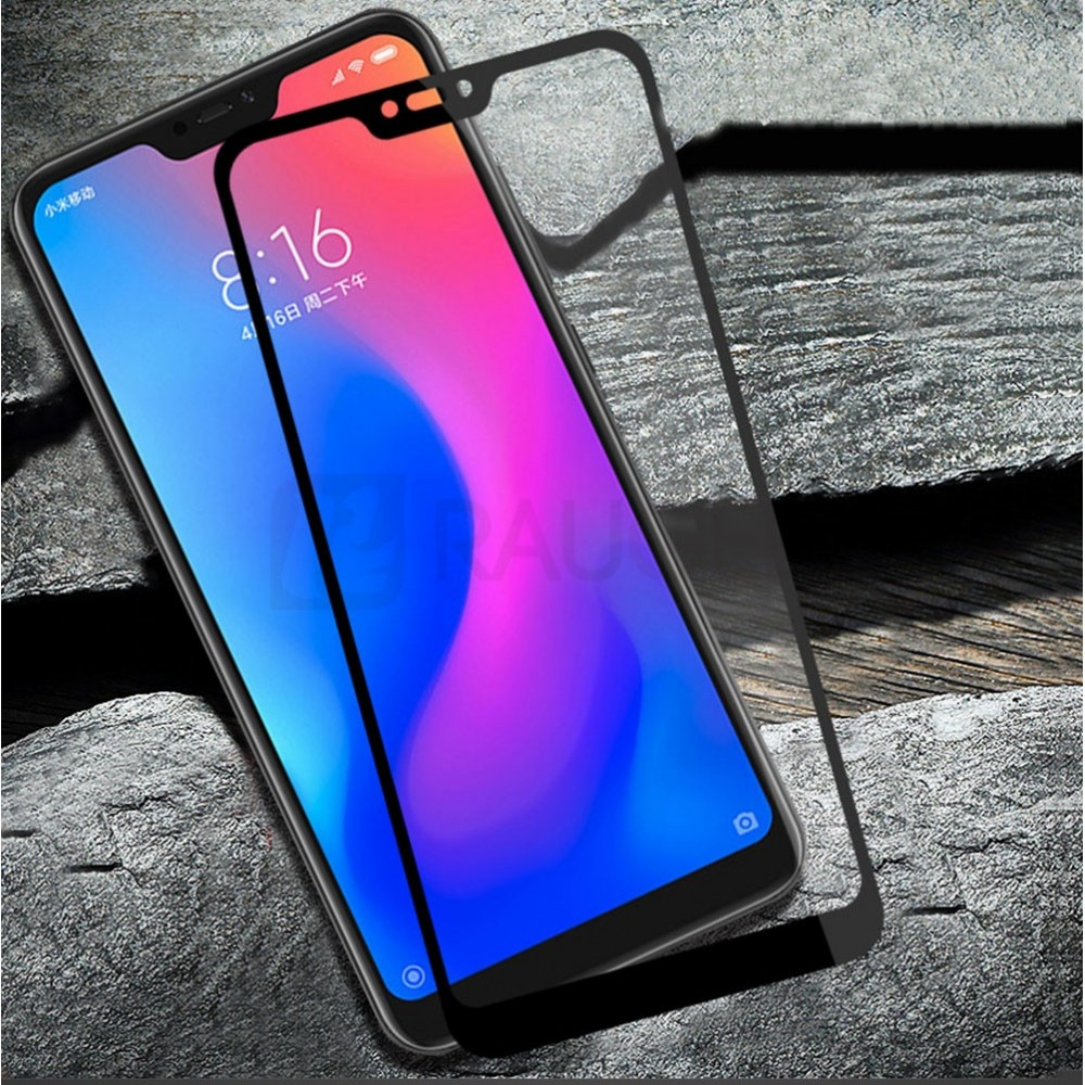 Стъклен протектор цветен 3D за Xiaomi Mi A2 Lite