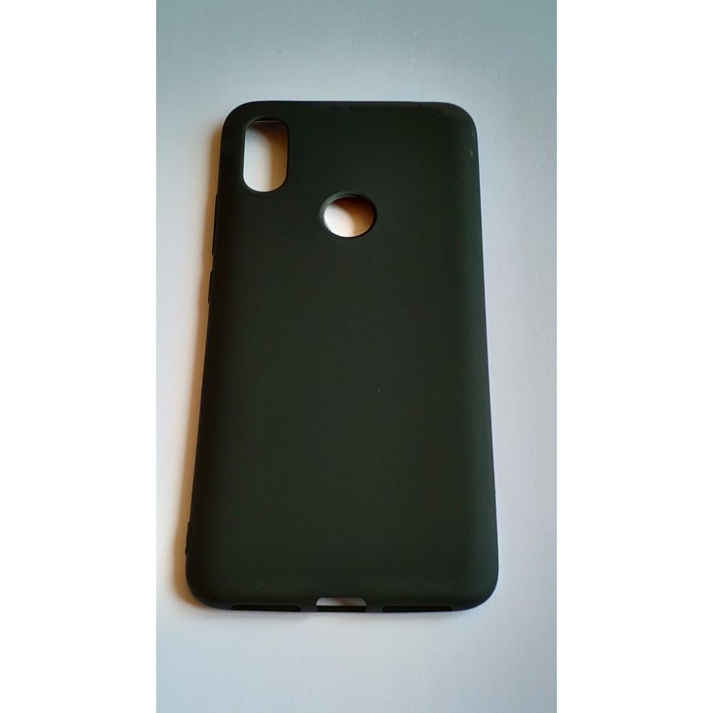 Черен силиконов гръб за Xiaomi Mi Mix 2S