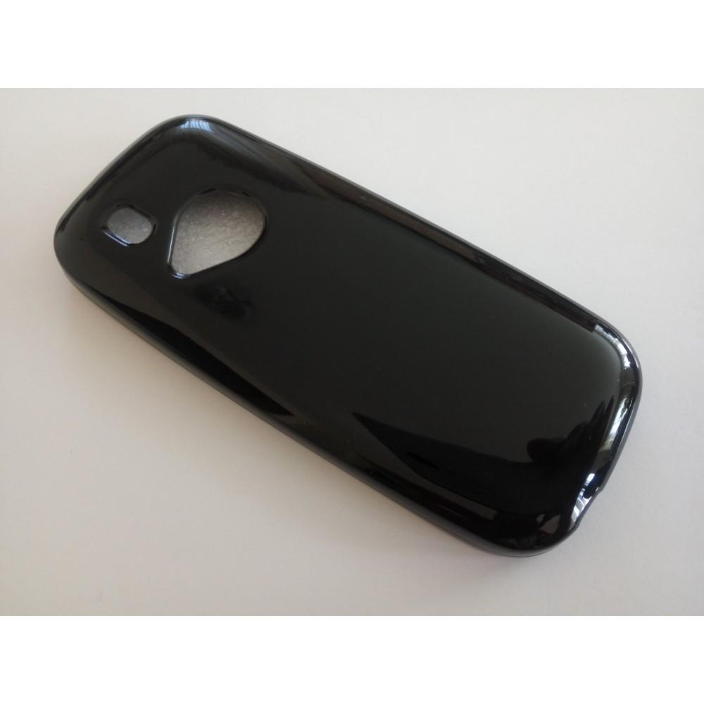 Черен силиконов гръб за Нокиа 3310 (2017)