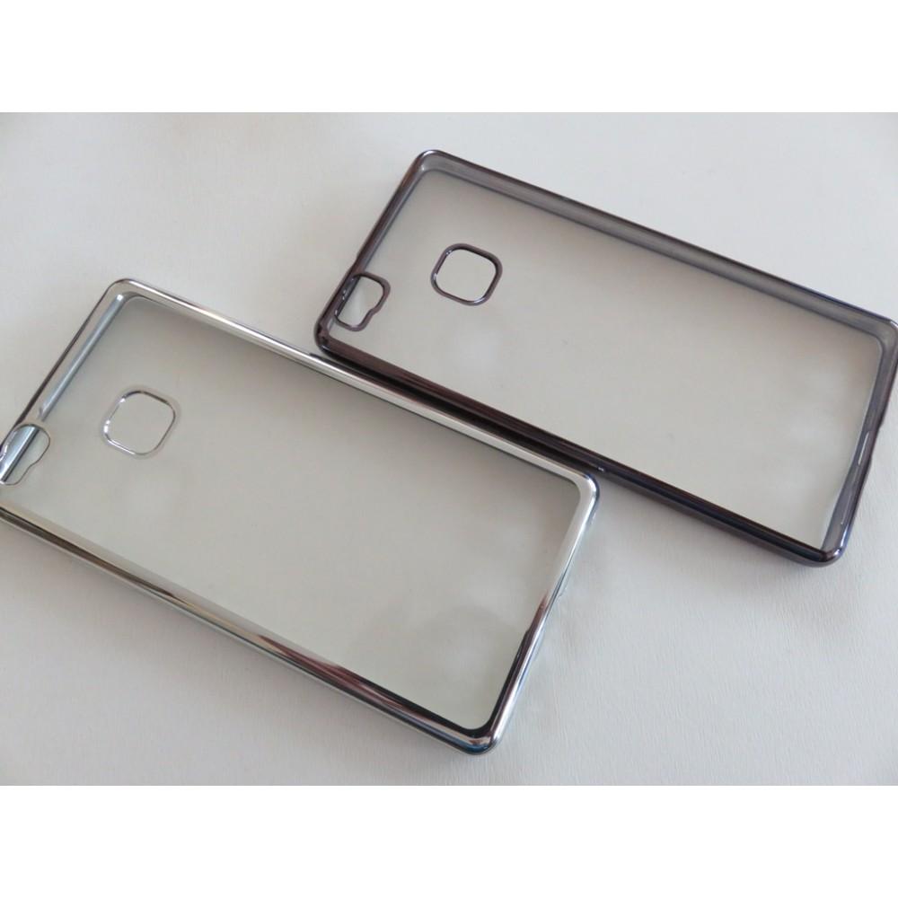 Силиконов гръб с цветен кант за Huawei P9 Lite mini